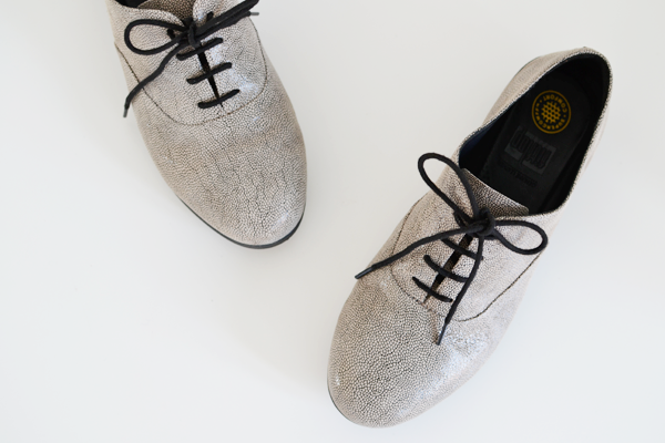 AD | Fitflop F-Pop Leather Oxford Shoes