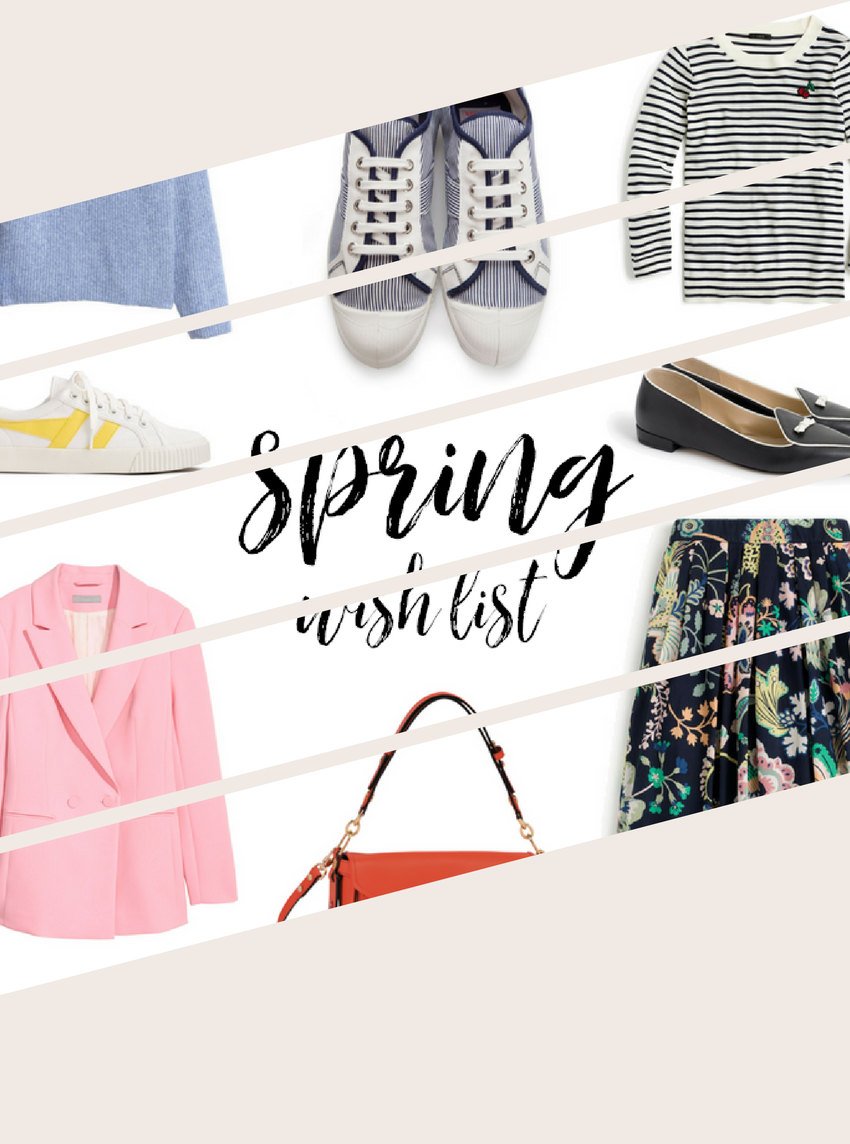 A little wish list for Spring