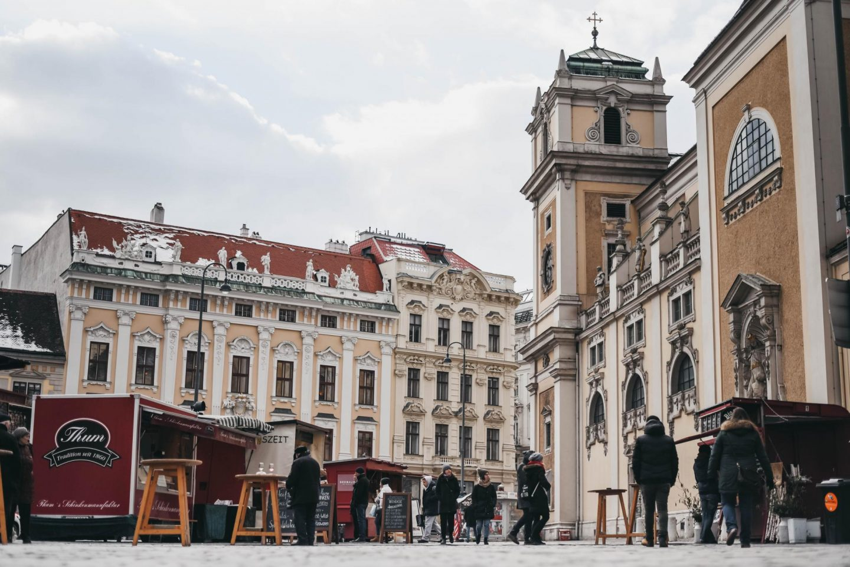 Vienna street market