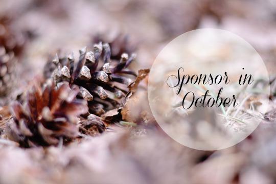 Sponsor The Ginger Diaries in October