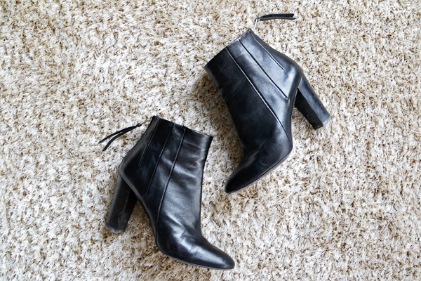 Black Ankle Boots • The Ginger Diaries