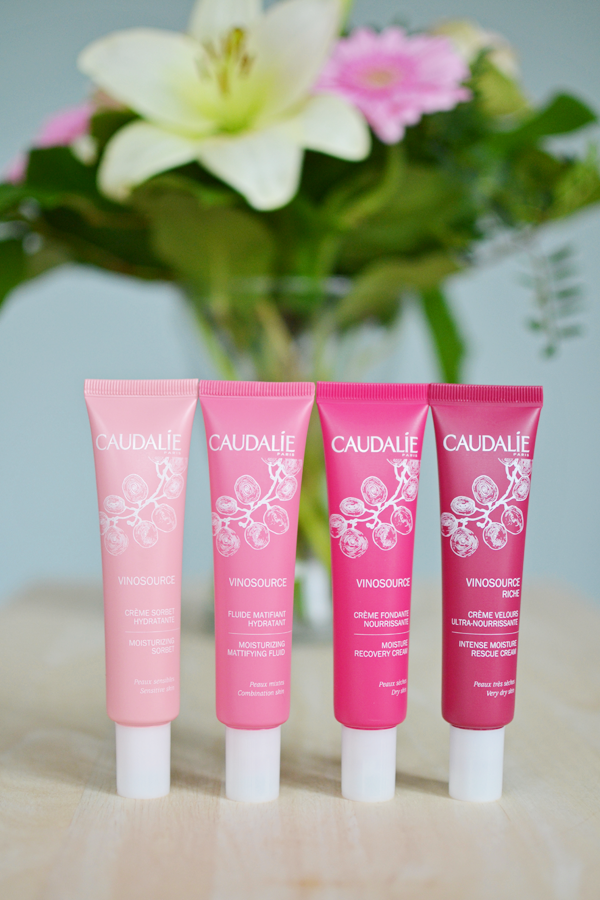 AD | Caudalie Vinosource Hydrating Skincare Review