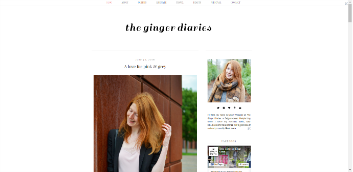 The Ginger Diaries 1.0