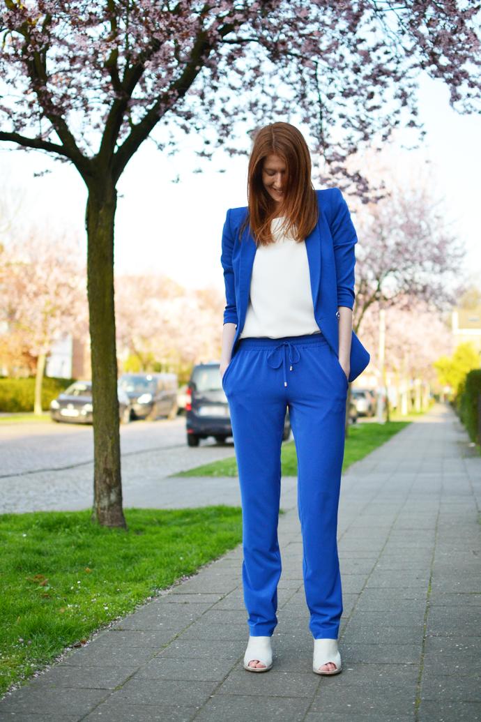 My Cobalt Colored Suit