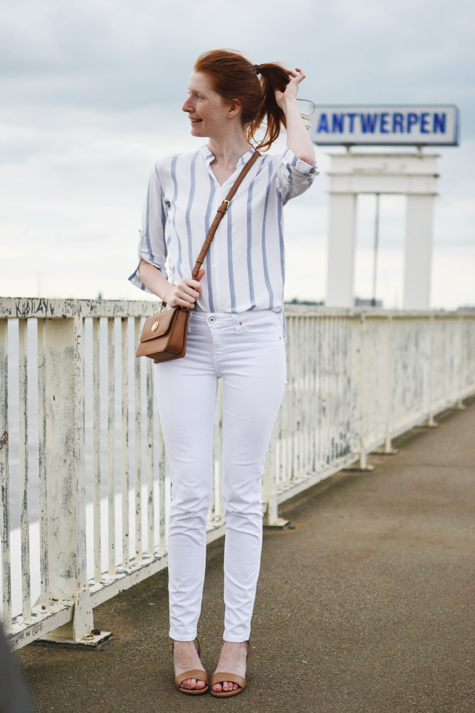 An Obsession With Blue & White Stripes