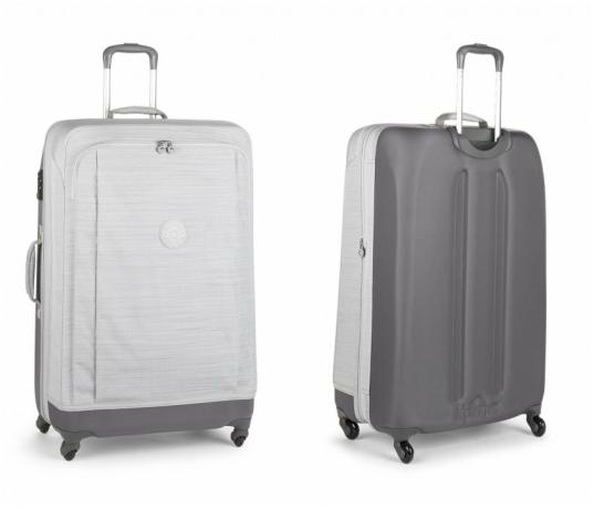 Hybrid suitcase