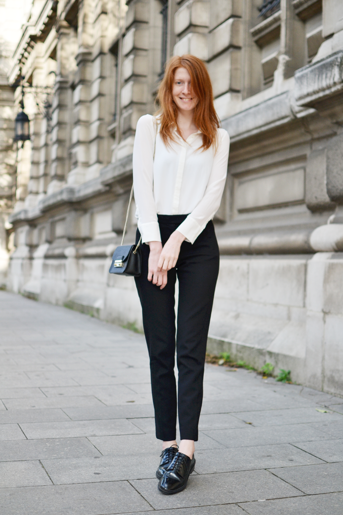 The Perfect Silk Blouse