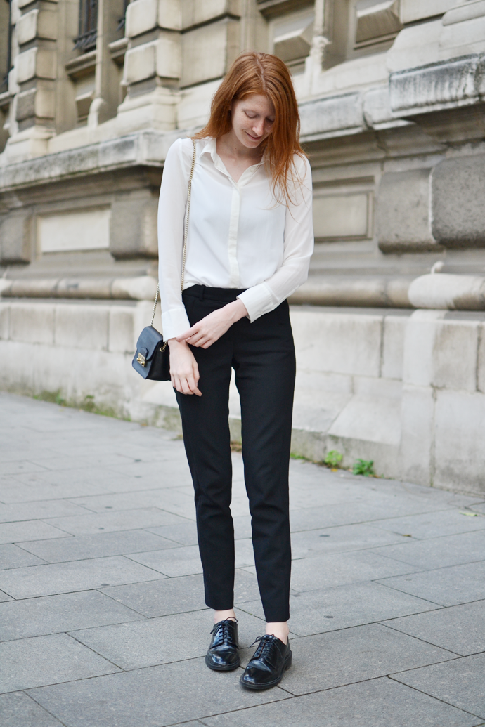 Basic Outfit Silk Blouse