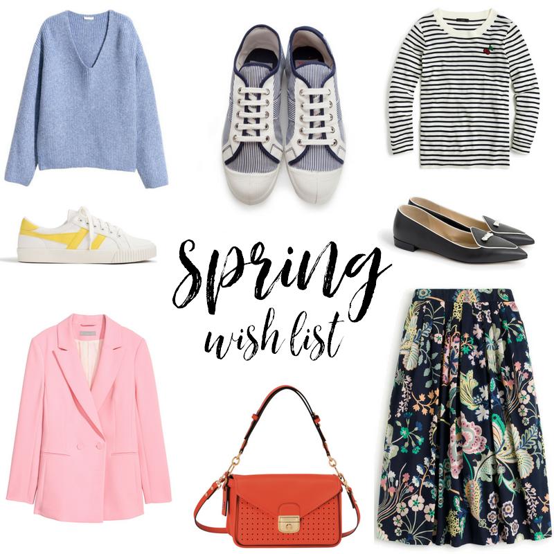 Fashion wish list for spring 2018