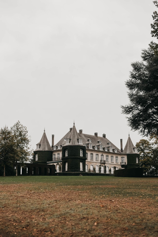Château de la Hulpe Brussels with garden