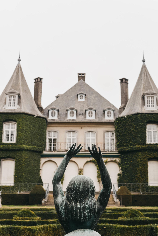 Château de la Hulpe Brussels in detail