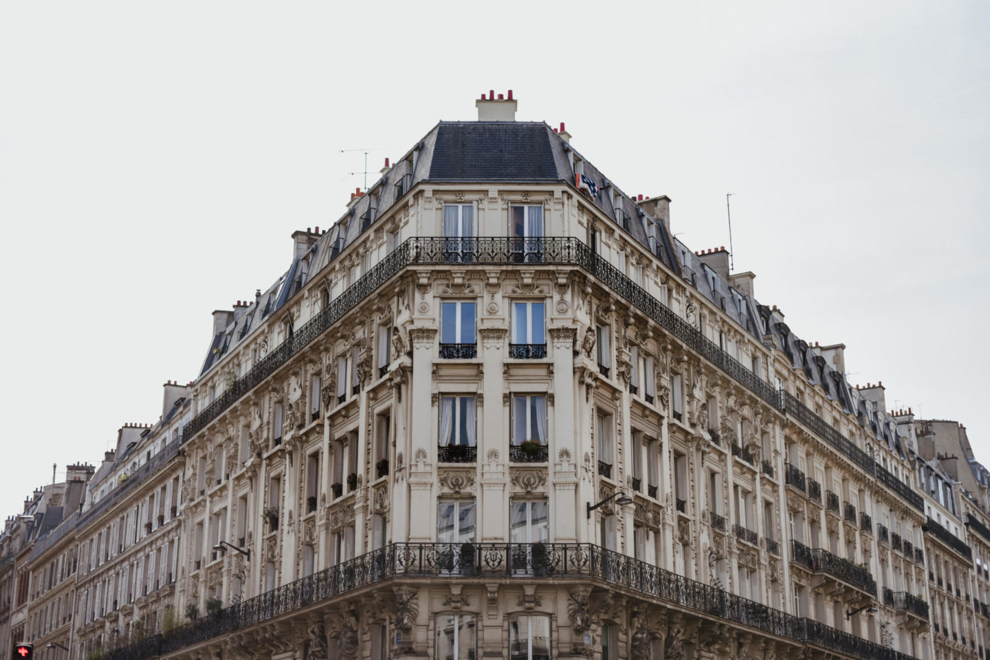 parisian appartment building