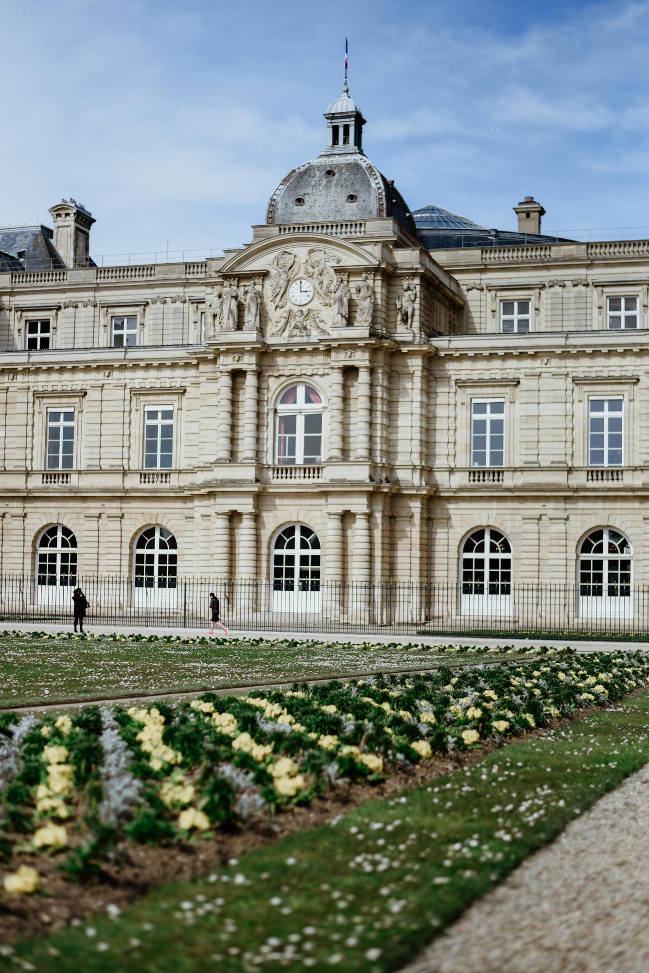 castle Jardin De Luxembourg Paris