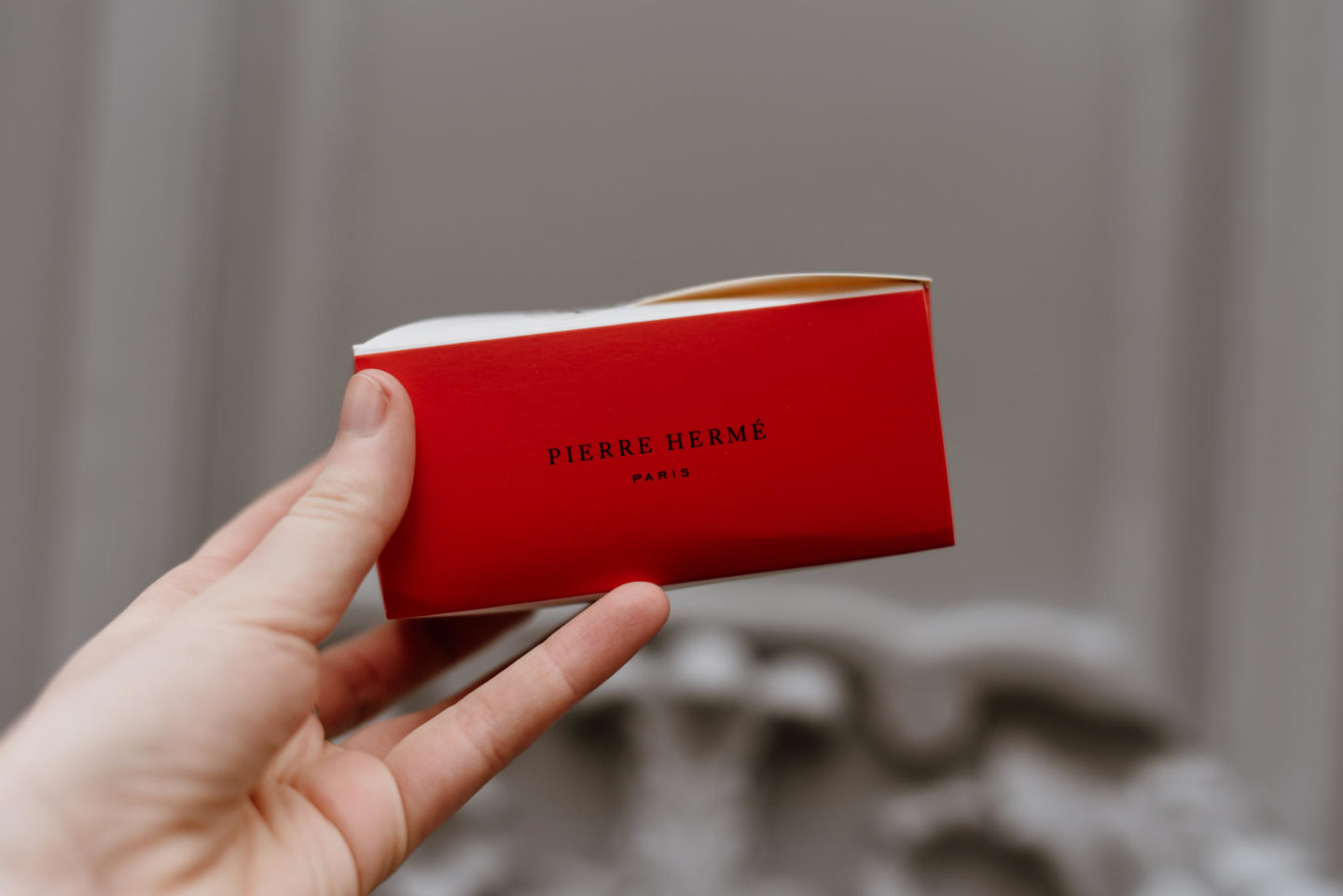 Red box from pierre hermé