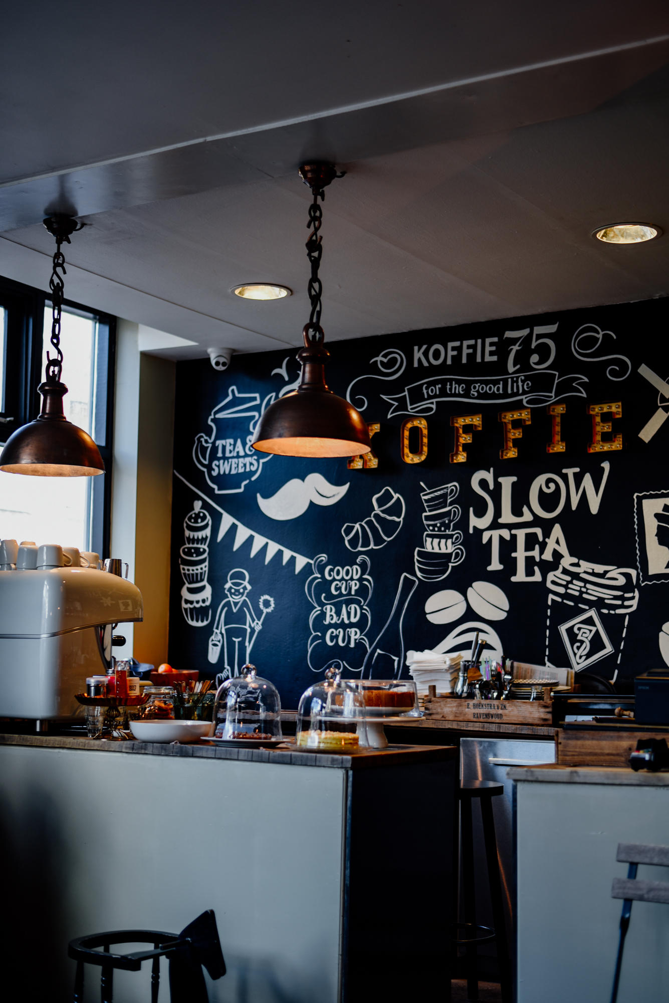 Coffee bar Koffie 75 Utrecht
