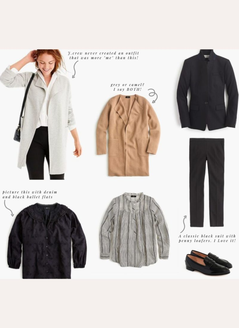 My Favorite J.Crew Pieces for Fall